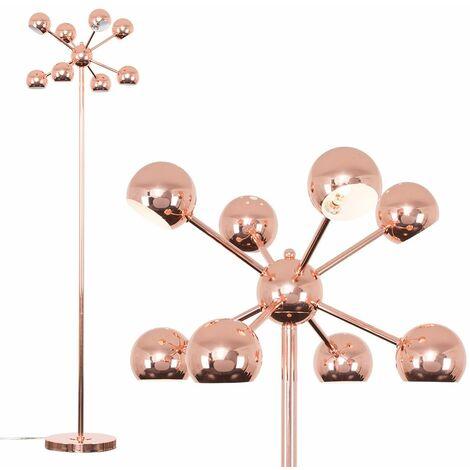 8 Way Multi Arm Cosmic Floor Lamp