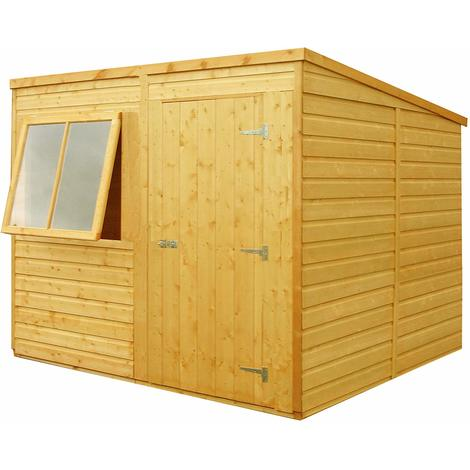 8 x 6 Pent Shed