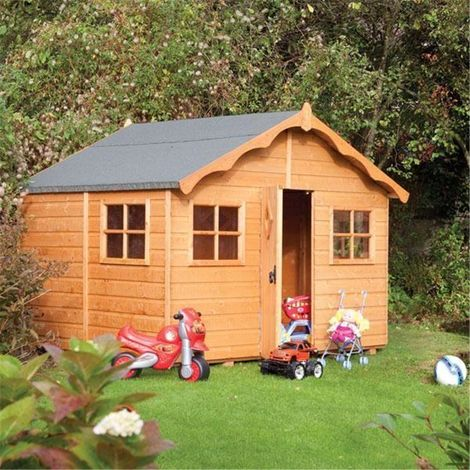 8 x 7 Deluxe Playaway Lodge Playhouse (2.47m x 2.08m)