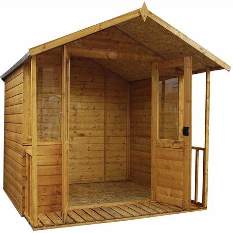 Waltons 8ft x 7ft Bournemouth Wooden Summerhouse