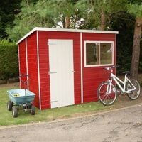8 x 8 Corner Shed with Double Doors