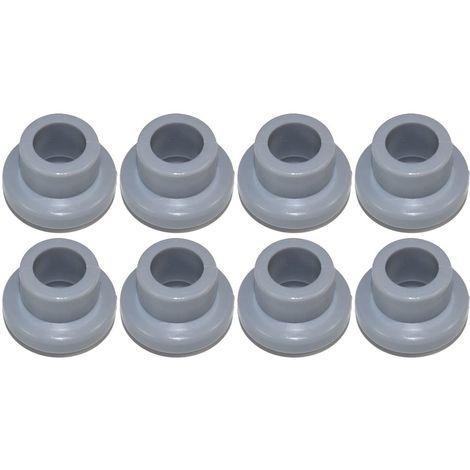 8 x Dishwasher Upper Basket Wheels To Fit Bosch SMS Siemens SN Series