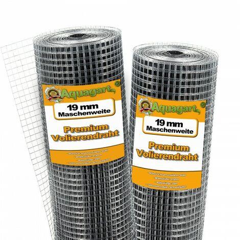 80 m x 1 m grillage pour volière, grille métallique, grillage soudé, grillage noué, clôture en fil de fer