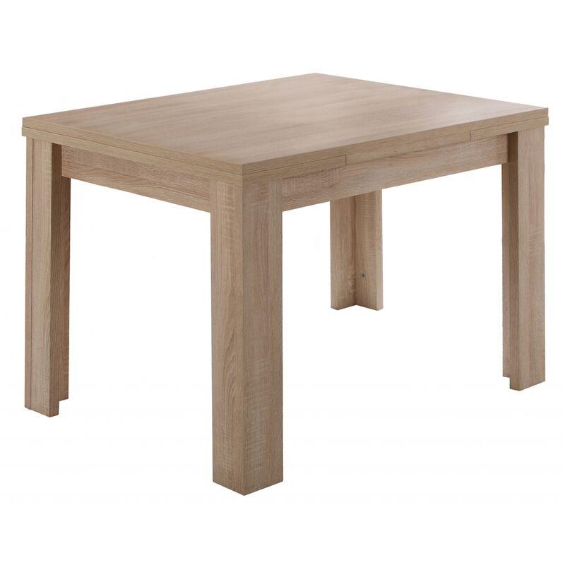 80 x 60 cm Tisch Esstisch Auszugstisch K - MÄUSBACHER