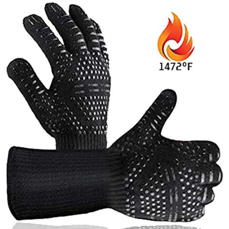 800 degree barbecue flame retardant high temperature resistant Tohiko barbecue heat insulation microwave oven glove