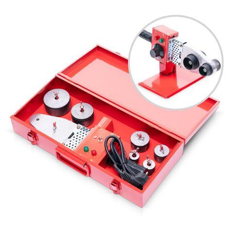 800 Watt Muffenschweißgerät mit 6 Muffen Ø 20 - 63 mm + Koffer