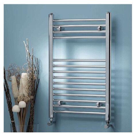 800 x 500 mm Curved Designer Bathroom Heated Ladder Towel Rail Radiator