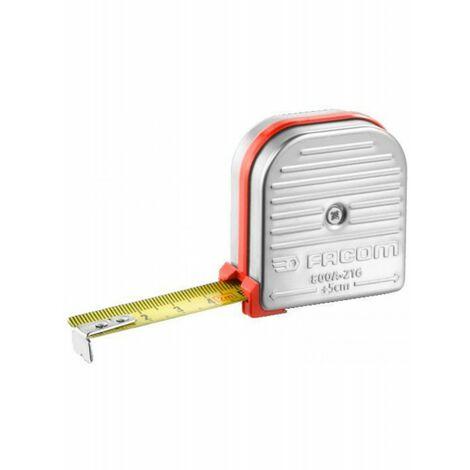 800A.216PB. Mètre à ruban de mécanicien boîtier INOX 22.49