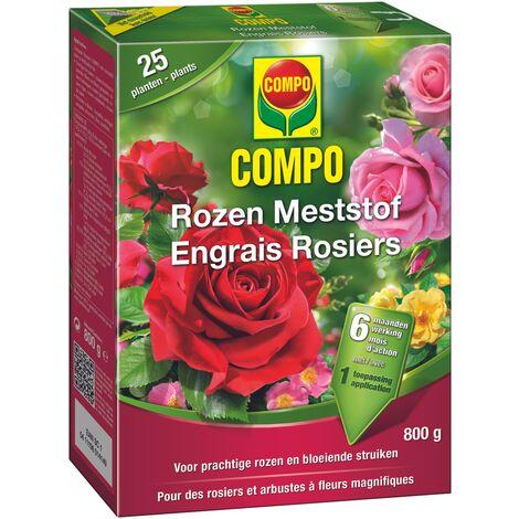 800g rosas fertilizante Compo