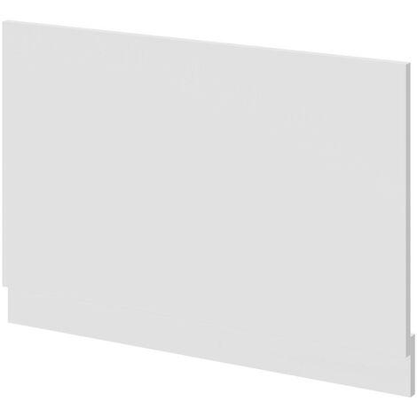 800mm High Gloss White Bath End Panel