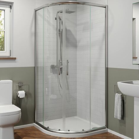800mm x 800mm Quadrant Shower Enclosure 6mm Safety Glass Walk In Cubicle Framed
