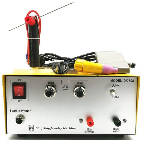 80A Machine de soudage portable par points à impulsions 220V 50 60HZ