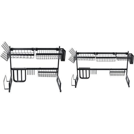 80KG Mohoo Stainless Steel Mug Tray Holder Cup Rack Kitchen Drainer Tray Rack