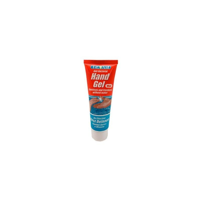 Image of 80ml Hand Sanitiser Anti-Bacteria Hand Gel - FIRST AID