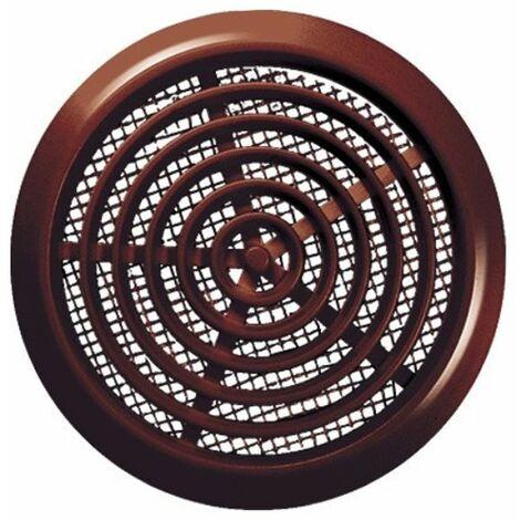80mm diamètre trou brun porte ronde air évent grille boiserie meubles
