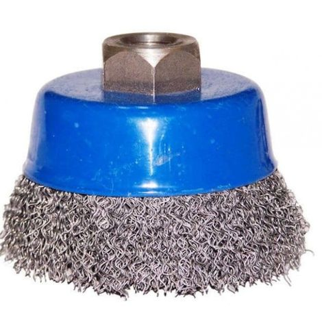 80mm wire butt brush for m14 grinder
