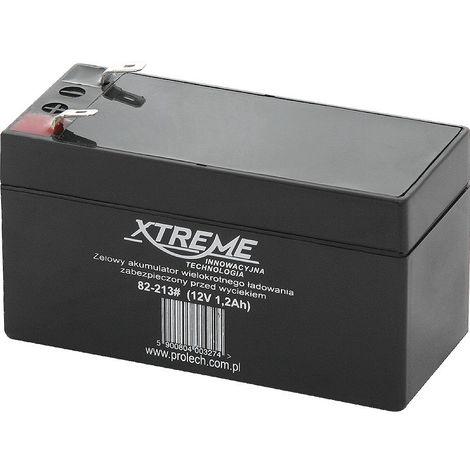 82-213 batterie au plomb 12V 1.2Ah Xtreme