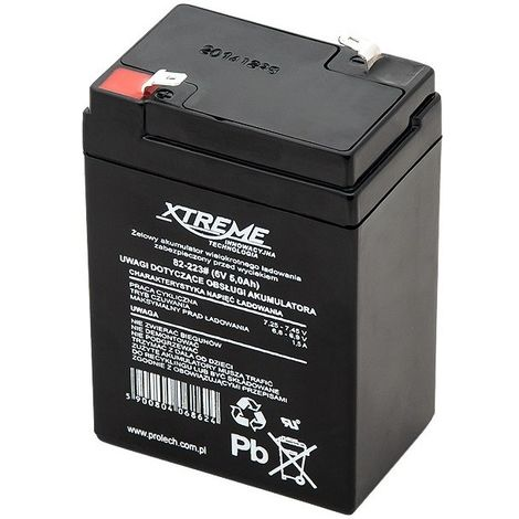 82-223 batterie au plomb 6V Xtreme 5Ah