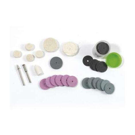 82 Accessoires de polissage et nettoyage pour outils rotatifs multifonctions - mini perceuse
