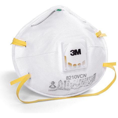 8210VCN Masques De Protection Kn95, 2 Pcs Masque filtrant