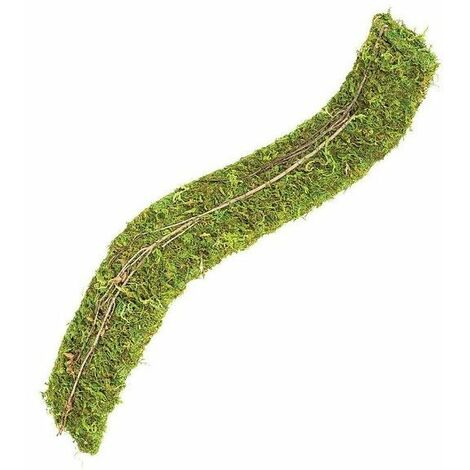 82747 - Natural Moss Bendy Bridge - Lge