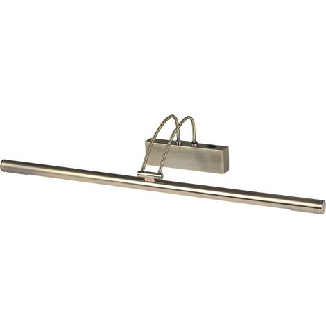8343AB Adjustable LED Picture Light In Antique Brass