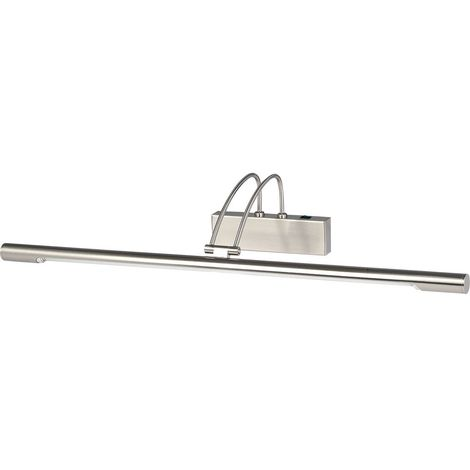 8343SS Adjustable LED Picture Light In Satin Silver