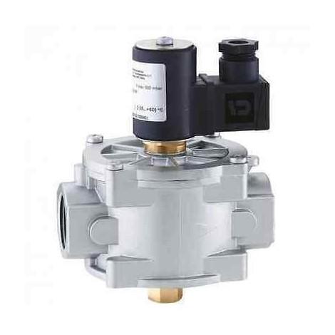 """837007 Elettrovalvola gas, normalmente chiusa con riarmo manuale 1 1/4"""" CALEFFI"""