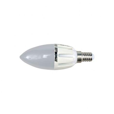 83821 lampadina C37 LED E14 3w 230v 3000k 210lm