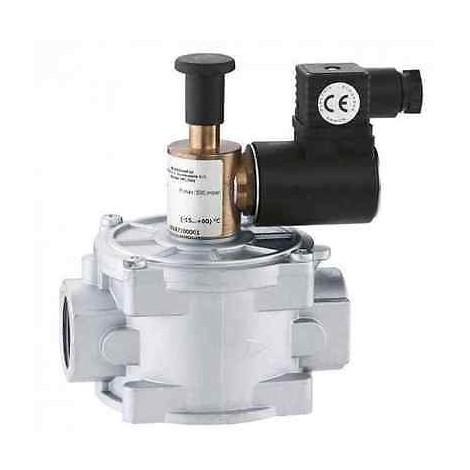 """839207 Elettrovalvola gas, normalmente aperta con riarmo manuale 1 1/4"""" CALEFFI"""