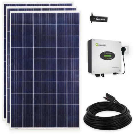 840 Watt Photovoltaikanlage Plug & Play Solaranlage für die Steckdose mit WiFi