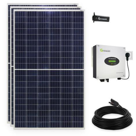 840 Watt Plug & Play Solaranlage Photovoltaikanlage mit WiFi, Halbzellen