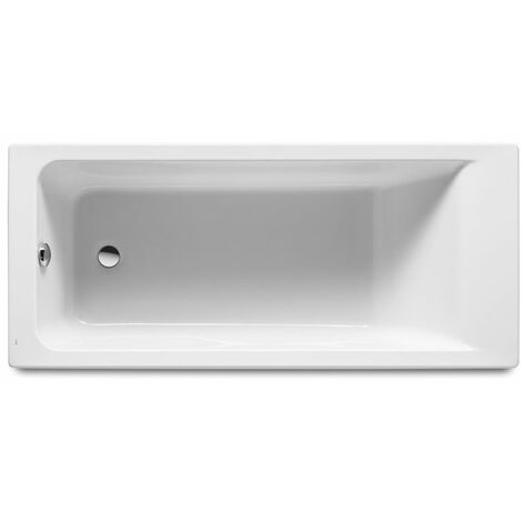 8414329801552 Roca - Bañera acrílica rectangular - Serie Easy , Color Blanco