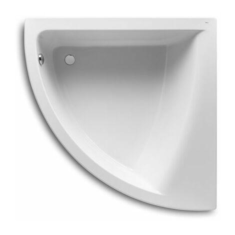 8414329801583 Roca - Bañera acrílica angular simétrica - Serie Easy , Color Blanco