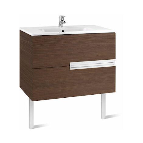 """main image of """"8414329937466 Roca - Unik (mueble base y lavabo) - 100 cm, Serie Victoria-N , Color Wenge texturizado"""""""