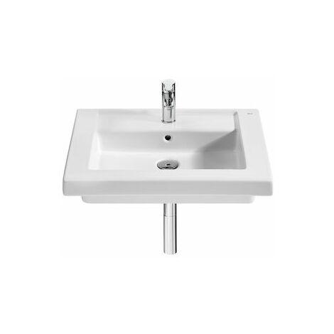 8433290308457 Roca - Lavabo de porcelana suspendido o de sobremueble - Serie Prisma , Color Blanco