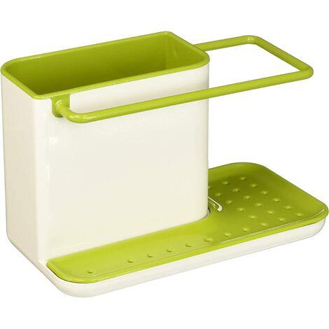 "main image of ""85021 - Caddy - Sink Storage - White / Green"""