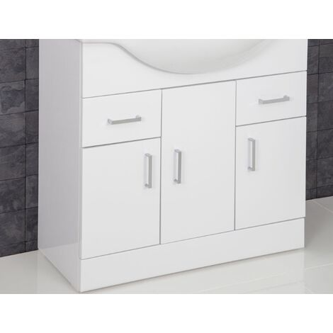 850mm Floorstanding Bathroom Vanity Unit Only