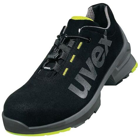 8544/8 Black/Yellow Safety Trainers