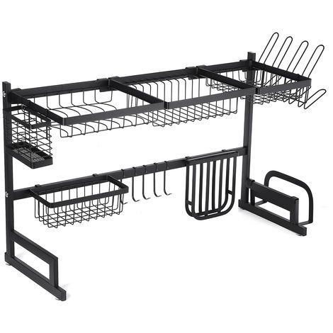 85cm Dish drainer Above sink Emptying bowl