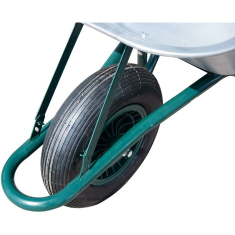 """main image of """"85l Large Wheelbarrow With Galvanised Pneumatic Tyre 150KG"""""""