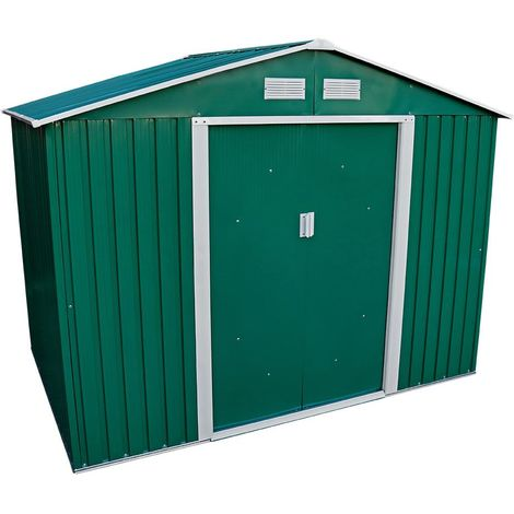 8.6 x 6ft Metal Shed