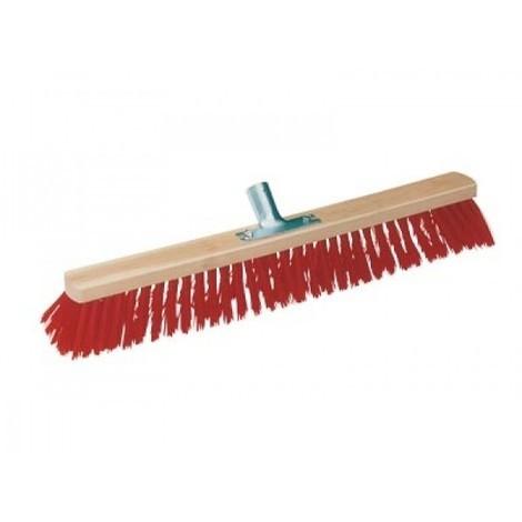 863090 Balai synthétique rouge - Longueur : 600 mm