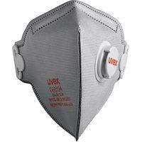 8733-220 FFP2 Fold Flat Valved Respirator Carbon Filter, Pack of 15