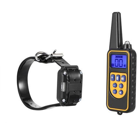 880 Collar de adiestramiento para perros electrico Control remoto para mascotas Impermeable
