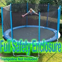 8ft Enclosure for Trampoline _ Enclosure Only