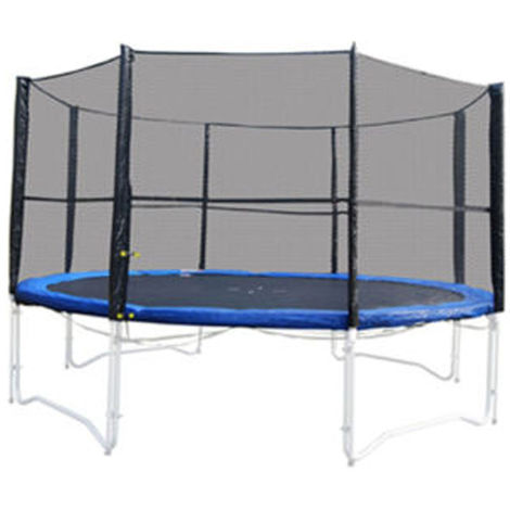 8ft Replacement Trampoline Netting - High Quality - For 6 Pole Enclosure