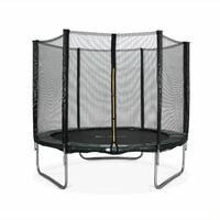 8ft Trampoline with Safety Net - 3 Colours - PRO Quality EU Standard