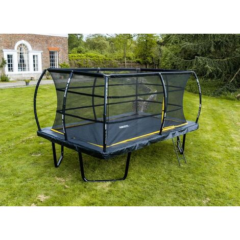 """main image of """"8ft x 12ft Telstar Elite Rectangle Trampoline Package INCLUDING COVER, LADDER and DELIVERY"""""""