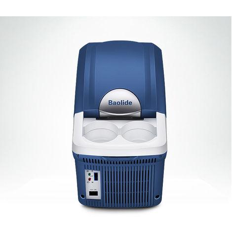 8L 12V Glaciere Auto Refrigerateur Congelateur Chaud Camping Caravane Portable Glaciere reversible chaud froid
